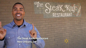 Walmart Steaks TV Spot, 'The Steak Knife Restaurant' - 176 commercial airings