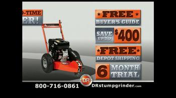 DR Power Equipment Stump Grinder TV Spot - Thumbnail 9
