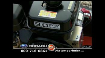 DR Power Equipment Stump Grinder TV Spot - Thumbnail 3