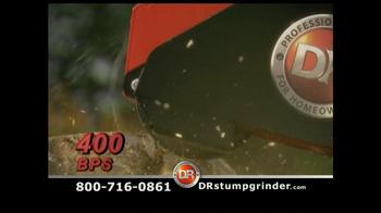 DR Power Equipment Stump Grinder TV Spot - Thumbnail 5