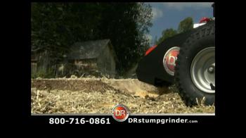 DR Power Equipment Stump Grinder TV Spot - Thumbnail 7