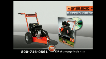 DR Power Equipment Stump Grinder TV Spot - Thumbnail 8