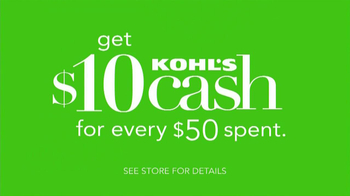 Kohl's Mom's Weekend Sale TV Spot, 'Kohl's Cash: You Remembered' - Thumbnail 10