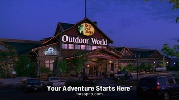 Bass Pro Shops TV Spot, 'Right Equiptment' Featuring Tony Stewart - 302 commercial airings