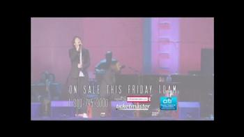 Josh Groban Live in the Round Tour TV Spot - Thumbnail 9