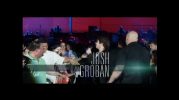 Josh Groban Live in the Round Tour TV Spot - Thumbnail 4