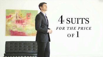 JoS. A. Bank TV Spot, '4 Suits for the Price of 1' - Thumbnail 9