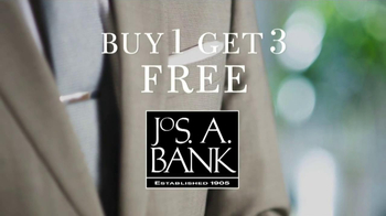JoS. A. Bank TV Spot, '4 Suits for the Price of 1' - Thumbnail 1