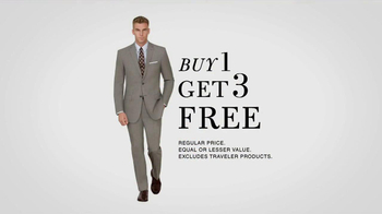 JoS. A. Bank TV Spot, '4 Suits for the Price of 1' - Thumbnail 6