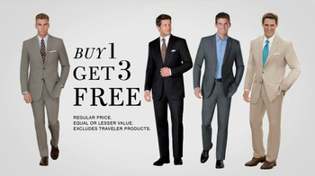 JoS. A. Bank TV Spot, '4 Suits for the Price of 1' - Thumbnail 7