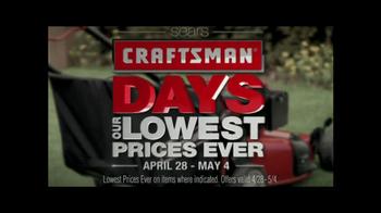 Sears Craftsman Days TV Spot, 'Start Making Now' - Thumbnail 5