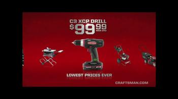 Sears Craftsman Days TV Spot, 'Start Making Now' - Thumbnail 6