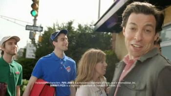 Pizza Hut Medium Charge TV Spot, 'Blurred Faces' - 1174 commercial airings