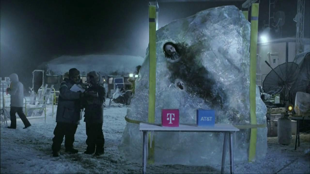 T-Mobile TV Commercial, 'Frozen in Ice'