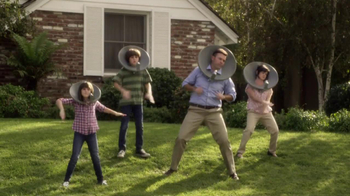 XFINITY TV Spot, 'Dishheads: No-Rain Dance' - 7002 commercial airings