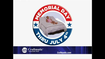 Craftmatic Memorial Day Warehouse Clearance Event TV Spot - Thumbnail 1