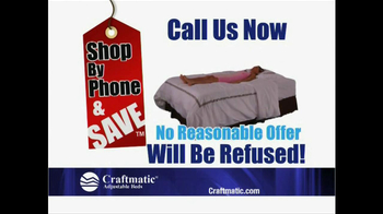 Craftmatic Memorial Day Warehouse Clearance Event TV Spot - Thumbnail 4