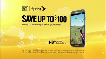 Sprint Truly Unlimited Data TV Spot, 'Spring' - Thumbnail 2