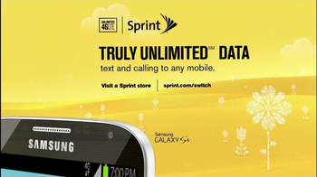 Sprint Truly Unlimited Data TV Spot, 'Spring' - Thumbnail 4