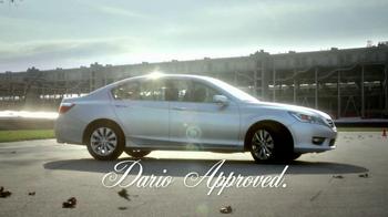 Honda Accord TV Spot, 'Approved' Featuring Dario Franchitti - Thumbnail 9