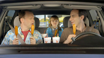 Sonic Drive-In 50 Cent Corn Dogs May TV Spot, 'National End of School Day'