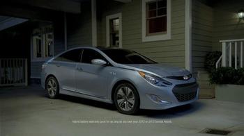 Hyundai Sonata Hybrid TV Spot, 'Lifetime Hybrid Battery Warranty' - Thumbnail 9