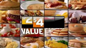 Denny's 2, 4, 6, 8 Value Menu TV Spot, 'Little Air Time' - Thumbnail 6