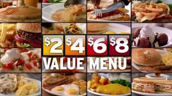 Denny's 2, 4, 6, 8 Value Menu TV Spot, 'Little Air Time' - Thumbnail 7