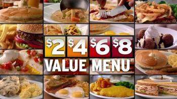 Denny's 2, 4, 6, 8 Value Menu TV Spot, 'Little Air Time' - Thumbnail 8