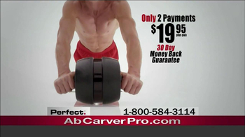Ab Carver Pro TV Spot, 'Toned Waist' - Thumbnail 10