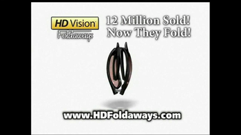HD Vision Foldaways TV Spot, 'Brighter and Clearer' - Thumbnail 3