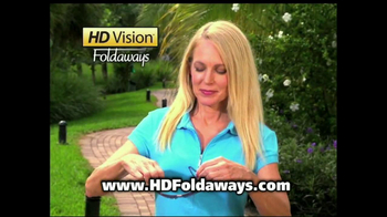HD Vision Foldaways TV Spot, 'Brighter and Clearer' - Thumbnail 9