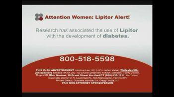 Sokolove Law TV Spot, 'Lipitor and Type 2 Diabetes'