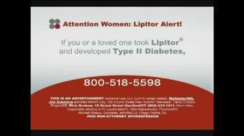 Sokolove Law TV Spot, 'Lipitor and Type 2 Diabetes' - Thumbnail 1