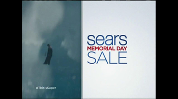 Sears Memorial Day Mattress Spectacular TV Spot, 'Man of Steel'