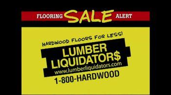 Lumber Liquidators TV Spot, 'Flooring Sale Alert'