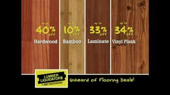 Lumber Liquidators TV Spot, 'Flooring Sale Alert' - Thumbnail 3