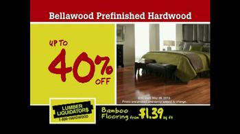Lumber Liquidators TV Spot, 'Flooring Sale Alert' - Thumbnail 5