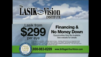 The LASIK Vision Institute TV Spot - Thumbnail 3