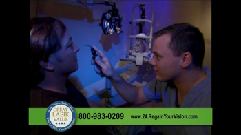 The LASIK Vision Institute TV Spot - Thumbnail 4