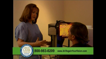 The LASIK Vision Institute TV Spot thumbnail