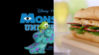 Subway TV Spot, 'Monsters University' Featuring Blake Griffin - Thumbnail 8