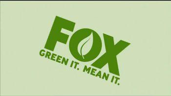 FOX Green It. Mean It. TV Spot Featuring David Boreanaz