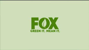 FOX Green It. Mean It. TV Spot Featuring David Boreanaz - Thumbnail 1