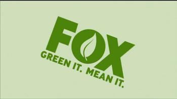 FOX Green It. Mean It. TV Spot Featuring David Boreanaz