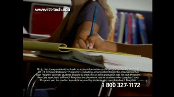 ITT Tech Opportunity Scholarship TV Spot - Thumbnail 5