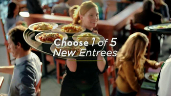 Olive Garden 3-Course Italian Dinner for Two TV Spot, 'Choices' - 2417 commercial airings