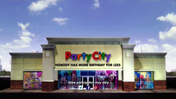 Party City TV Spot, 'Birthday Party Themes' - Thumbnail 8