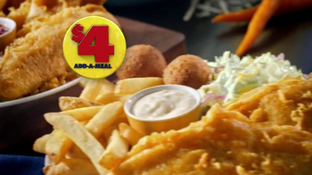 Long John Silver's $4 Add-A-Meal TV Spot, 'Catch Incredible Savings'