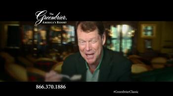 The Greenbrier Resort TV Spot Feat. Tom Watson, Kenny Perry, Stuart Appleby - Thumbnail 10